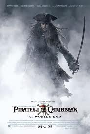 Pirates of the Caribbean - World's End.  2008
