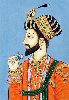 Shah Jahan Pichwai Paintings, Mughal Paintings, Indian Art Paintings, Rajasthani Painting, Rajasthani Art, Madhubani Art, Madhubani Painting, Mughal Miniature Paintings, Indian Folk Art