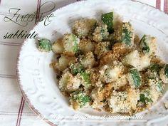 Ricetta Zucchine Sabbiose