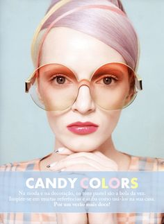 candy colors #pastel #fashion