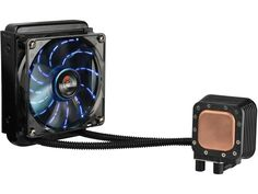 Enermax Liqmax 120S Aluminum All-in-One Liquid Cooler With 120mm Circular Blue LED Fan #enermax #computerhardware