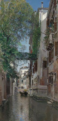 Martín Rico y Ortega | A VENETIAN CANAL SCENE | Sotheby's