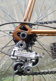My 1978 Mercian bicycle. Reynolds 531.