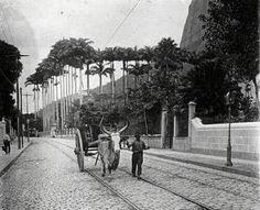 Rua São Clemente, Botafogo, RJ,Início do Século XX
