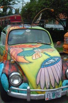 Dragonfly VW Beetle
