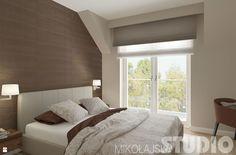 Sypialnia w ciepłych brązach - zdjęcie od MIKOŁAJSKAstudio - Sypialnia - Styl Klasyczny - MIKOŁAJSKAstudio