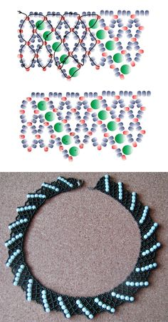 Free pattern for necklace Corfu | Beads Magic