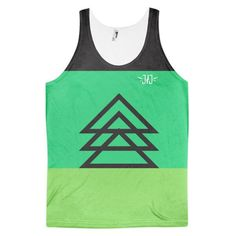 3 Triangles Classic fit tank top (unisex)