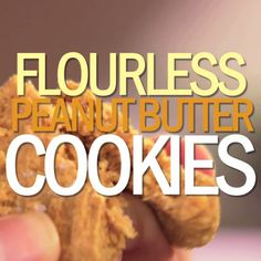 Flourless Peanut Butter Cookies make baking sweet and simple!