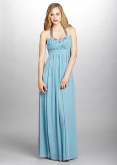 DECODE 1.8 Halter Chiffon Gown