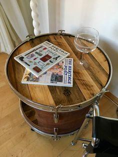 #diy #upcycling #drums #couchtisch #sidetable #kickdrum #schlagARTig