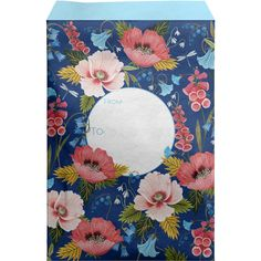 """Large 11"""" x 15.5"""" Printed Floral Padded Mailing Envelopes, Blooming Mailing Envelopes, Biodegradable Products, Floral Prints, Bloom, Presents, Gift Wrapping, Printed, Kids Rugs, Contents"""