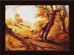 Get this elegant painting in your homes, and transform your interiors within minutes.     This is a canvas painting, which is a result of masterful artwork in canvas.     Get it only on http://www.gloob.in/painting/water-color-scenery.html