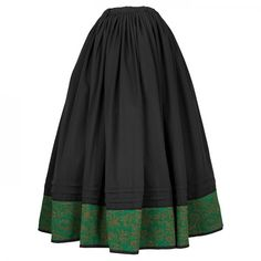 Saia negra con cenefa. Folk Costume, Costumes, Modern Victorian, Shirt Dress, Traditional, Skirts, Dresses, Fashion, Tutorials