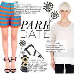 Park date! by thequeenstore on Polyvore featuring moda, Ilaria Nistri, Antonio Marras and Giuseppe Zanotti