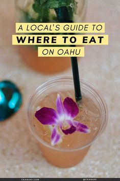 A local's guide to the best places to eat on Oahu, Hawaii. The best malasadas, shave ice, views, and more. Oahu Hawaii / Oahu Hawaii things to do in / Oahu Hawaii secrets / Oahu food guide / Oahu food restaurants / Honolulu Hawaii / Honolulu Hawaii things to do in / North Shore Oahu / Hawaii food guide / Oahu eats / best places to eat in Oahu / where to eat in Oahu / Waikiki Hawaii / #oahu #hawaii #foodguide #honolulu #waikiki Hawaii Usa, Honolulu Hawaii, Hawaii Travel, Honolulu Restaurants, Hawaii Things To Do, Shave Ice, North Shore Oahu, Best Places To Eat