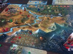 """Legends of Andor"" is a cooperative adventure board game for two to four players in which a band of heroes must work together to defend a fantasy realm from invading hordes. To secure Andor's borders, the heroes will embark on dangerous quests over the course of five unique scenarios (as well as a final scenario created by the players themselves). But as the clever game system keeps creatures on the march toward the castle, the players must balance their priorities carefully."