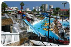Pleasure Island Waterpark, Fort Walton Beach....Might have to add this to our Fort Walton/Destin Beach vaca next summer...