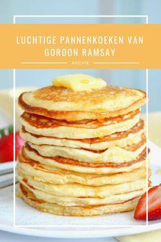 Gordon Ramsay weet wel hoe hij luchtige pannenkoeken moet maken! En hij voegt er dit bijzondere ingrediënt aan toe