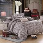 Orchid Brown Single Double Queen King Size Bed Set Pillowcase Quilt Duvet Cover  Price 2.34 USD 2 Bids. End Time: 2016-12-04 05:42:22 PDT