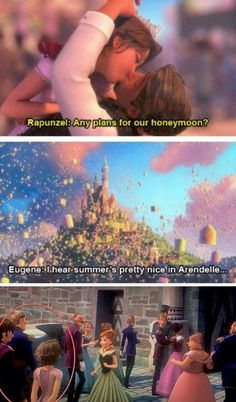 Tangled | Frozen | Rapunzel and Eugene in Arendelle...! OMG! this actually happened