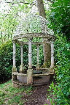 What a beautiful gazebo! Reminds me of something from the elf city of Rivendell in the The Lord of the Rings movie.