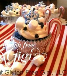 Gluten Free Hot Cocoa Cupcakes Save Print Author: Gluten Free Gigi Recipe type: Dessert Cook time:  15 mins Total...
