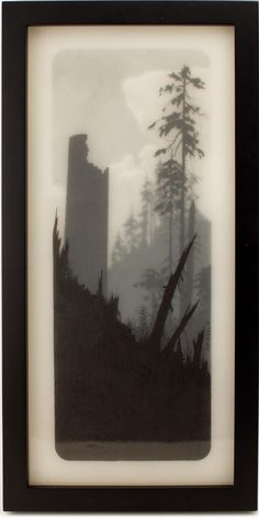 The Look Tower by Brooks Salzwedel. I am so in love with his work even though a lot of it makes me sad.