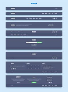 WRFRM – Wireframe Kit by laaqiq on Creative Market - Design Wireframe Design, Navigation Design, Footer Design, Graphisches Design, Web Ui Design, Web Design Trends, Design System, Interface Design, Page Design