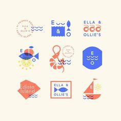 More shrimping & fishing & Edistoing & eating & watering & designing...