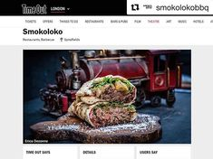 "#Repost @smokolokobbq with @get_repost | 24 March 2018  A TIMEOUT FOR SMOKOLOKO  Have you seen our two profiles at Timeout London? Just go to their website and check it out for yourself. You can even leave a ""love"" for us there signing in with your Facebook Twitter or Google account. Thanks for TimeOut and you guys! >>>> Special thanks to Ana Toledo and #smokoloko for this delicious job"