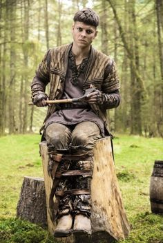 """Vikings - The Last Ship. The son of Ragnar who was born """"Without bones"""" Ivar played by Alex Høgh Anderson"""