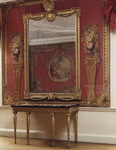 The Croome Court tapestry room, Worcestershire, 1758–67  Designed by Robert Adams (English, 1728–1792)