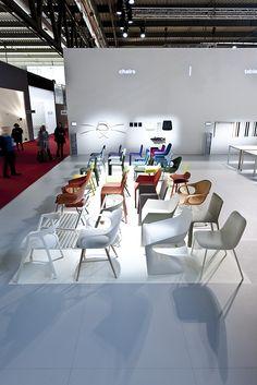 Salone Internazionale del Mobile Milano 2013 - Kristalia #milanfair2013 #chair