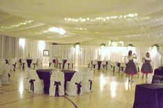 Practically Perfect Affordable Wedding Decor Almost doesn't look like a gym!