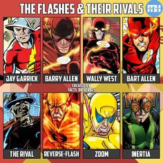 The Flashes and their Rivals