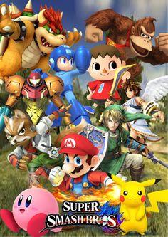 ¡Super Smash Bros está cerca!