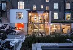 Contemporary Architecture Extension and Renovation in East London + Wood Award 2012 Winner RIBA Awards 2014 (Shortlisted)