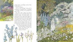 The Secret Garden, illustrated by Inga Moore. You can see why it's my favourite...