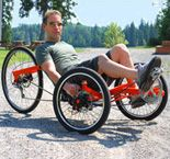 Recumbent Tadpole Racing Trike. I built myself one of these.