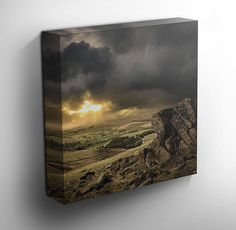 Sunset Over The Lake District - #canvas #art
