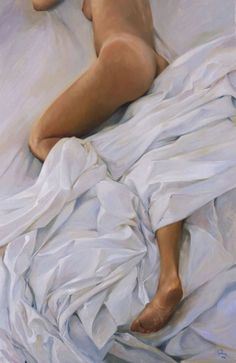 Lluís Ribas 1949 | Nude portrait | Spanish Figurative Painter