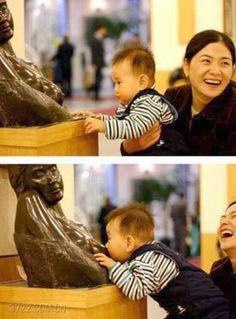 Breastfeeding in public. Ha!