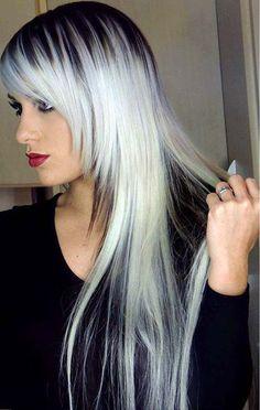 Vem ver 15 lindos cabelos com luzes platinadas e se encante com as lindas possibilidades desse tipo de luz! #coresdecabelo #cabelocomluzes #platinadas #salaovirtual