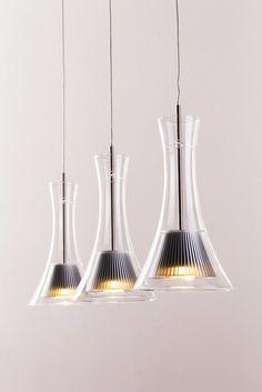 Pendellampe LED Design Hängeleuchte Leuchte Glas Pendelleuchte Hängelampe Lampe…
