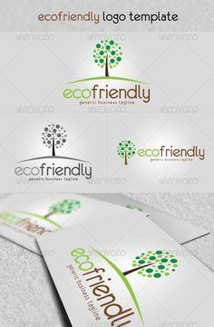 'Eco Friendly' Logo  EPS Template • Download ➝ https://graphicriver.net/item/eco-friendly-logo/1858796?ref=pxcr