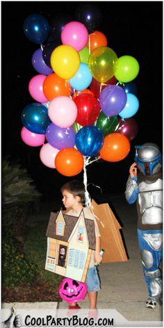 Pixar Up Halloween Costume | Halloween Costume 'Pixar Up', Up & Away Up Halloween Costumes, Fall Halloween, Disney Pixar, Christmas Bulbs, Holiday Decor, Costume Ideas, Fun, Holidays, Holidays Events