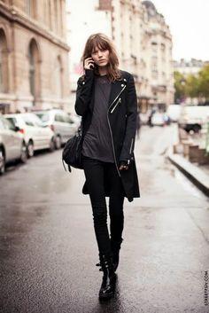 Freja Beha Erichsen off duty model street style
