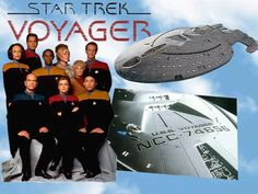 Star Trek Voyager. My favorite of all the series. Kate Mulgrew makes an awesome captain.