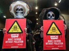 WHAT??? Fashion and water pollution have something in common?
